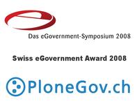 PloneGov primé à l'eGovernement Symposium 2008