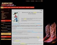 Une représentation écran du site Country Romandy.
