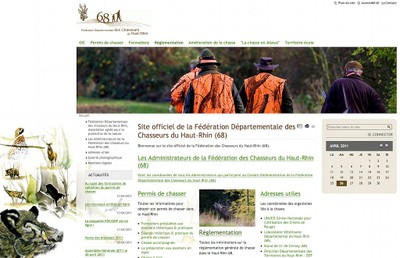 La Fédération départementale des chasseurs du Haut-Rhin a choisi Solgema pour son nouveau site internet.
