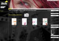 Une image du site web du magasin Déclic Photographie à Monthey.