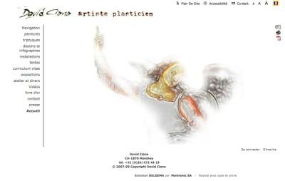 Jeune peintre plasticien, installé à Monthey, dont la densité du parcours révèle une maturité artistique impertinente que l'on retrouve sur son site web.