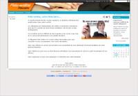 Une photographie de la page d'accueil du site Fidu-Online.