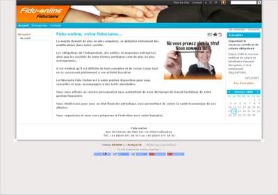 La fiduciaire Fidu-Online a fait de son site Web une vitrine dans laquelle elle présente les prestations qu'elle propose dans le cadre de ses activités.