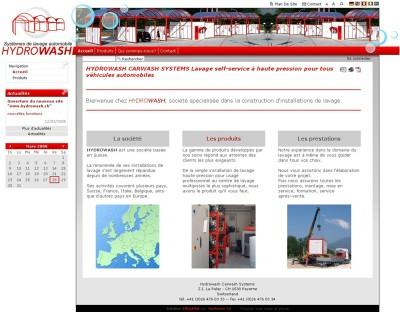 Image du site Internet www.hydrowash.ch