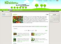 """Une image du """"Les-Maraîchers.ch"""" qui est un service entièrement gratuit de mise en relation directe de producteurs de produits de qualités et des acheteurs."""