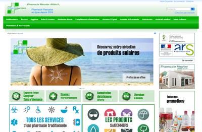 Pharmaservies, site de vente en ligne de médicaments de la pharmacie Meunier à Altkirch.