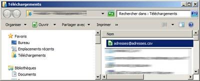 SquirreMail enregistrer le fichier